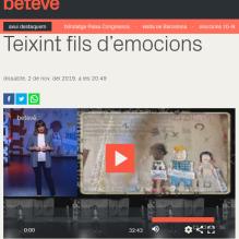 Teixint Fils d'Emocions a Barcelona Televisió